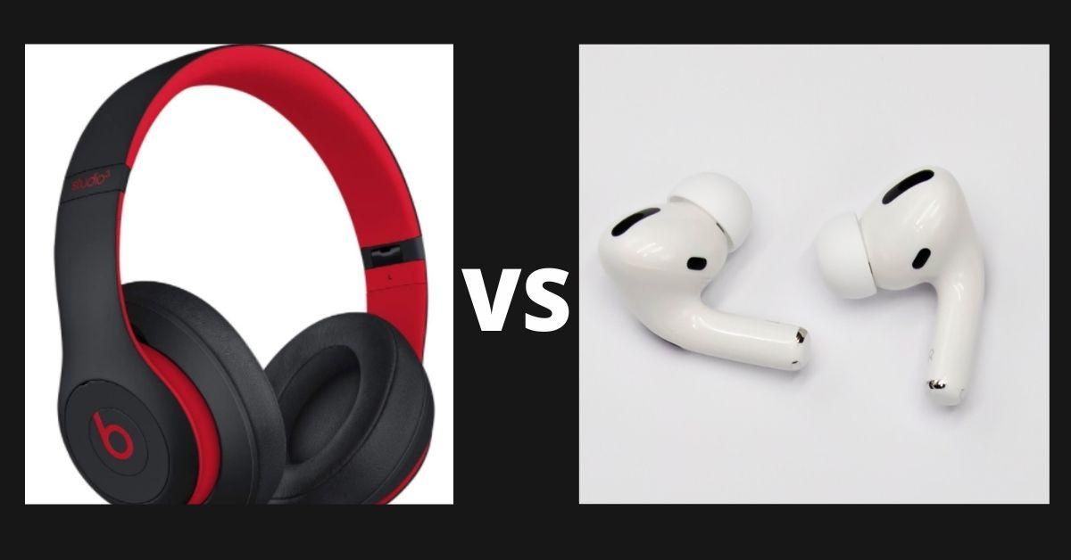 beats studio 3 vs airpods pro
