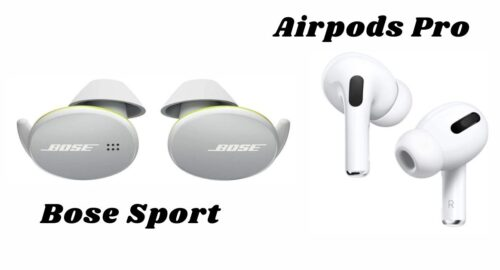 Bose Sport vs airpods pro