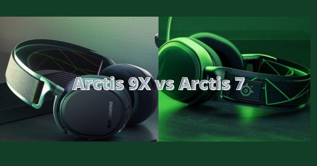 SteelSeries Arctis 9X vs Arctis 7