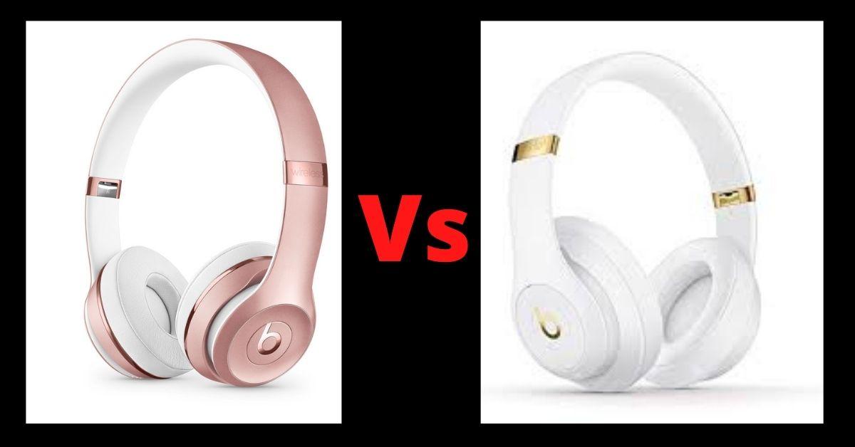 beats solo 3 vs beats studio 3